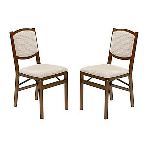 contemporary folding chairs stakmore contemporary wood folding chairs in fruitwood