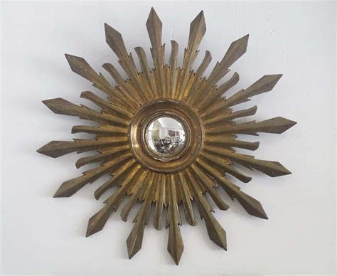 hot home trend sunburst mirrors colonial style sunburst wall mirror at 1stdibs