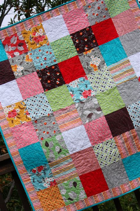Personalised Patchwork Quilt Baby - custom crib quilt patchwork squares baby gift gender