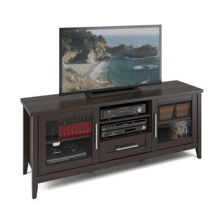 tv bench walmart corliving tjk 683 b jackson tv bench in espresso finish