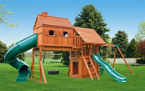 wooden swing set with monkey bars fantasy tree house jungle gyms ma ri eastern jungle gym
