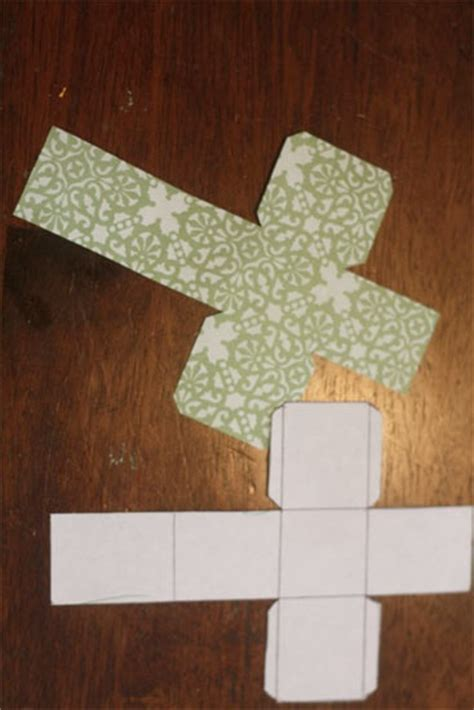 Paper Direct Folded Mini Cards Template by Paper Boxes Mini Tree Advent Calendar Project Factory