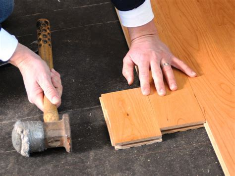 How To Lay Wood Flooring by How To Install Prefinished Solid Hardwood Flooring How