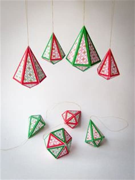 printable ornaments 3d diy christmas star ornaments set of 6 printable 3d paper