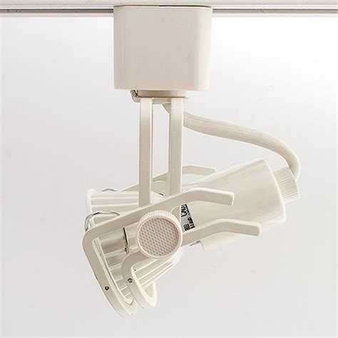 Gu10 Track Light Fixtures Gu10 Mr16 White Wire Gimbal Ring Track Light Fixture