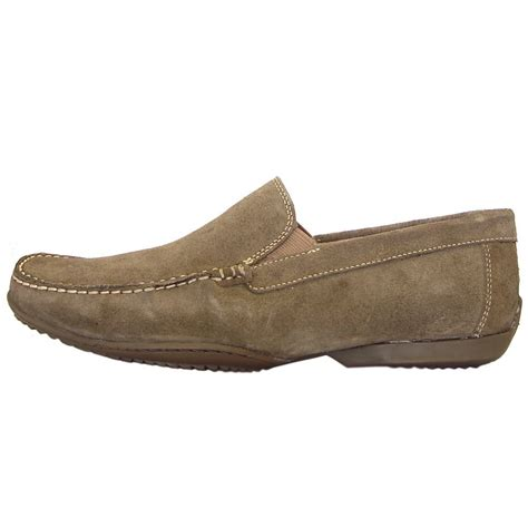 mens suede loafers anatomic shoes sale tavares mens casual loafer from mozimo