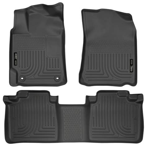 Toyota All Weather Floor Mats Husky Weatherbeater All Weather Floor Mats For Toyota