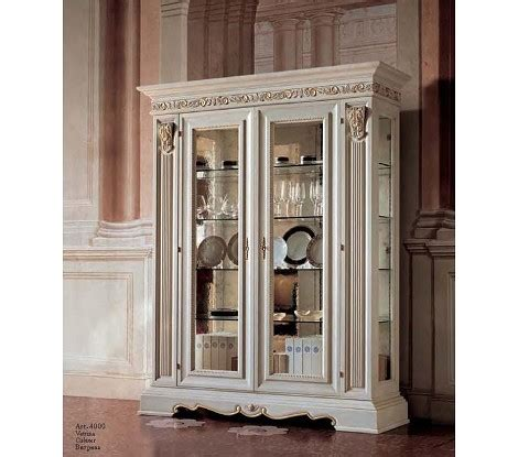 dining room display cabinets white dreamfurniture san marco dining display case white