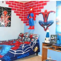 spiderman bedroom decor my son s spiderman room kids room pinterest