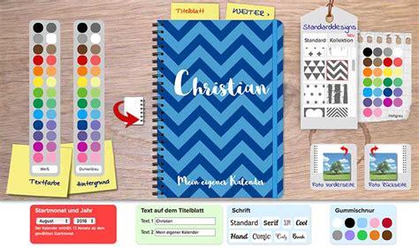 design kalender selbst gestalten geburtstagskalender selbst gestalten geburtstagskalender