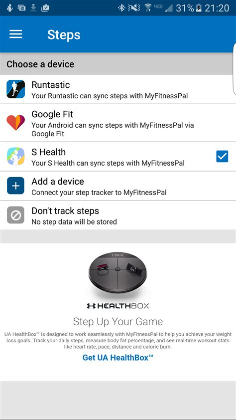 myfitnesspal android app myfitnesspal android app not syncing workout everydayentropy