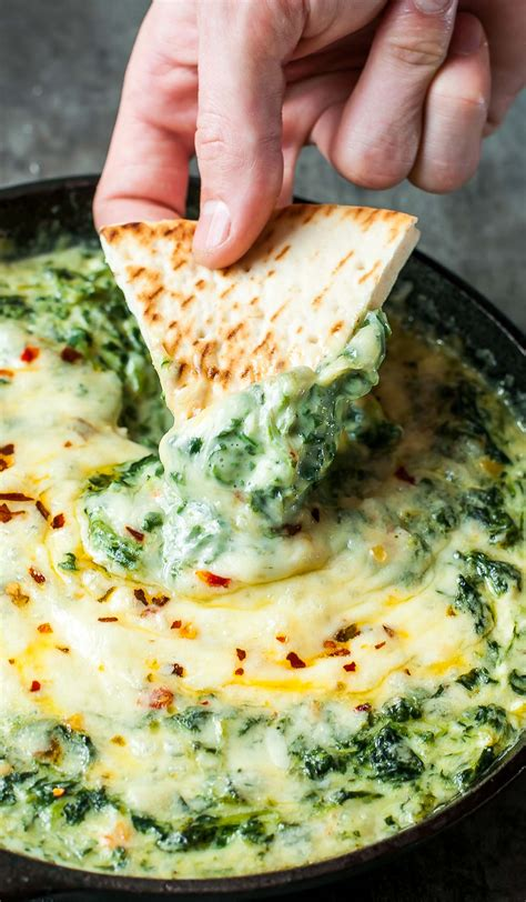 easy hot spinach dip recipes