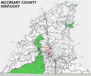How Big Is 300 Square Feet Mccreary County Kentucky Kentucky Atlas And Gazetteer