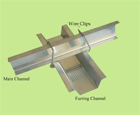 Ceiling Metal Furring by Metal Furring Channel For Galvanized Ceiling View Furring