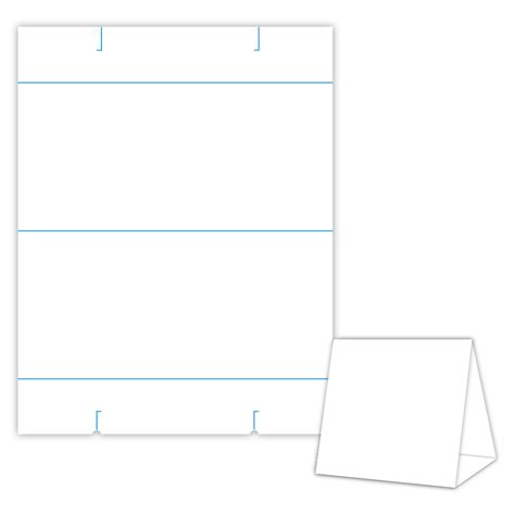 table tent template custom card template 187 blank tent card template free