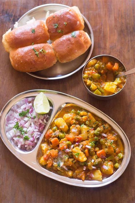how to make pav bhaji kada pav bhaji recipe mumbai khada pav bhaji how to