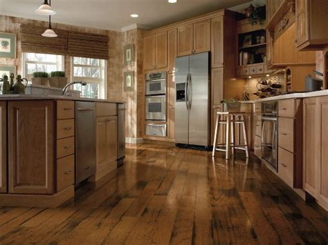 hardwood floors in kitchen distressed hardwood flooring from armstrong flooring