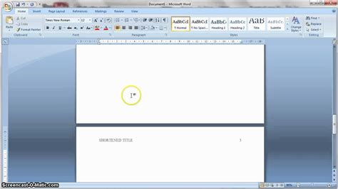 format apa in word apa formatting 6th edition in ms word youtube