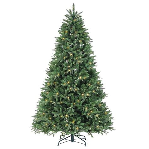 remite control multifunction christmas tree sterling 7 5 ft pre lit dakota pine artificial tree with power pole remote
