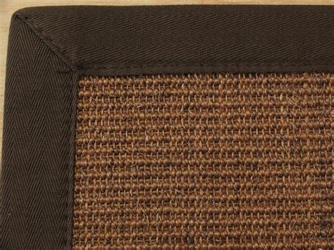 sisal teppich braun astra sisalteppich manaus braun mit bord 252 re coffee 065