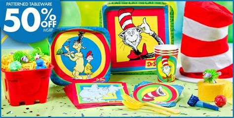 Dr Seuss Baby Shower Decorations Canada by Dr Seuss Supplies Thing 1 Thing 2