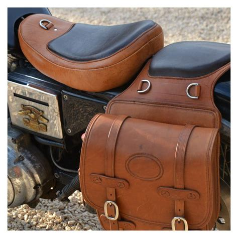 Handmade Leather Saddlebags - pin by babs on wheels
