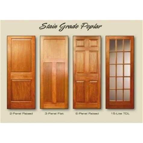 Stain Grade Interior Doors Donlin Donlin Interior Stain Grade Poplar Doors At Perkins Lumber Willmar Spicer Minnesota Mn