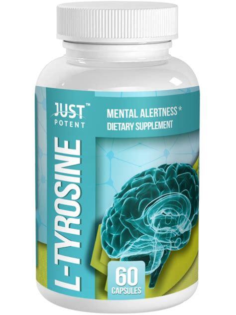 supplement l tyrosine l tyrosine supplement by just potent mental alertness