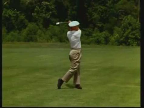 ben hogan swing youtube ben hogan swing montage youtube