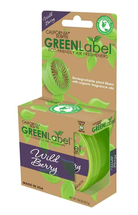 California Green Label Berry California Scent Eco Friendly Green Label Berry Alternative Health Products