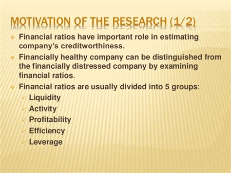 important ratios for banks the usefulness of financial ratios in discriminating