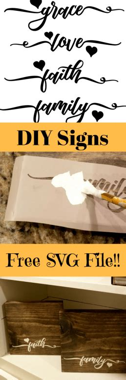 diy wooden signs with sayings with free cut file leap diy wooden signs with sayings with free cut file leap