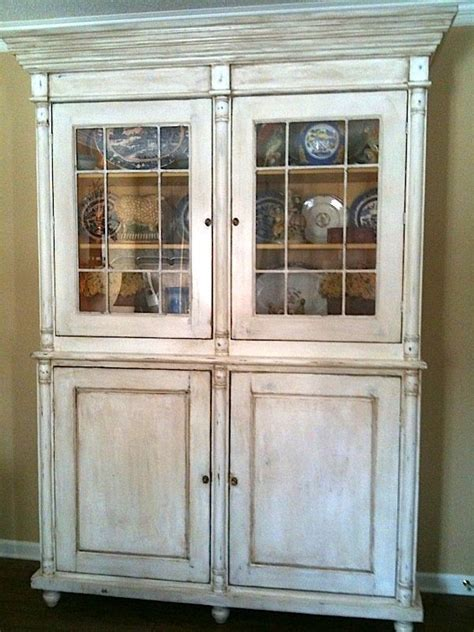 custom  antique french china cabinet  hand crafted
