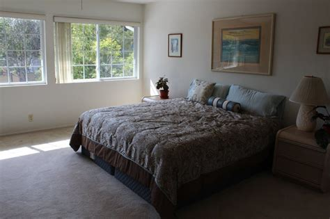 spacious master bedroom  attached bathroom room