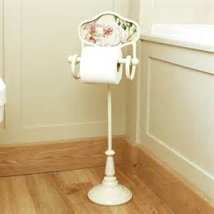 exceptional Toilet Paper Holders For Bathroom #6: original_vintage-rose-standing-toilet-roll-holder.jpg