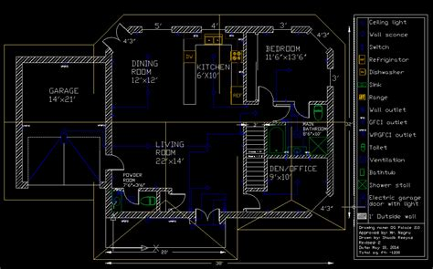 how to draw a floor plan in autocad bungalow autocad drawings shuaib reeyaz