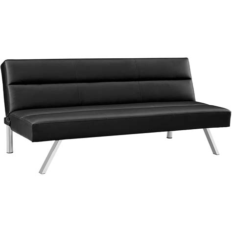 futon black black futon walmart bm furnititure