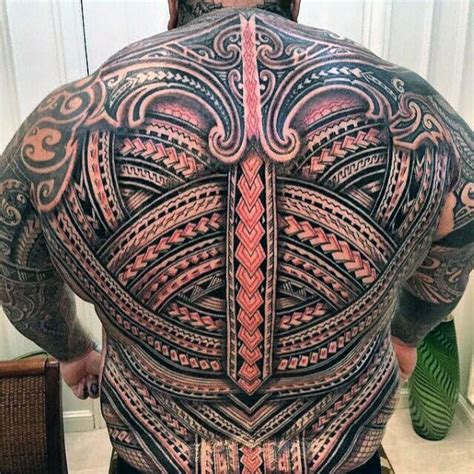 3d tattoo polynesian 40 badass back tattoos for men masculine design ideas