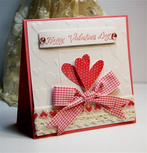 Handmade Valentines Card - handmade card greeting card happy s day