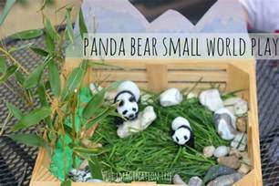 Ideas For A Small Living Room panda bear small world imaginative play the imagination tree