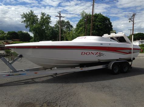 donzi boat exhaust donzi zx 1998 for sale for 28 000 boats from usa