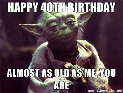 Funny 40th Birthday Memes - happy 40th birthday cakes memes