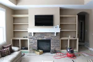 fireplace built ins hammers and high heels feature project and brian s fireplace built ins