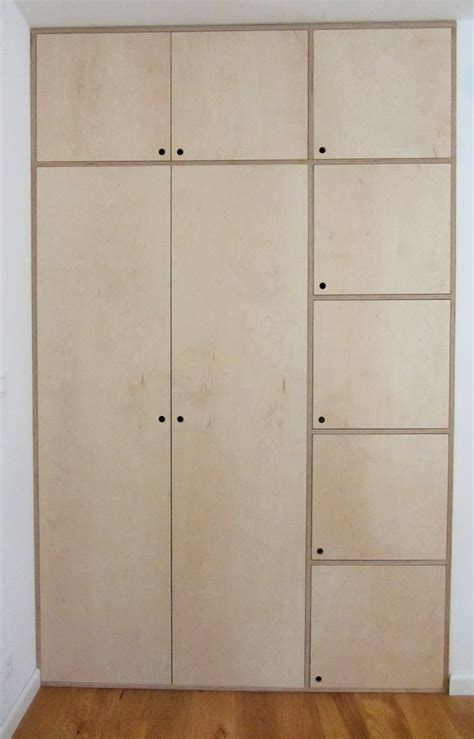 Plywood Closet Doors by 17 Best Ideas About Plywood Cabinets On