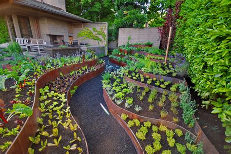 Narrow Lot Cottage Plans by 5 Easy Ways To Create A Stunning Vegetable Garden