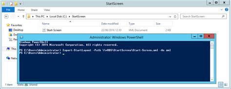 start screen layout xml not working rds custom start menu remove administrative tools