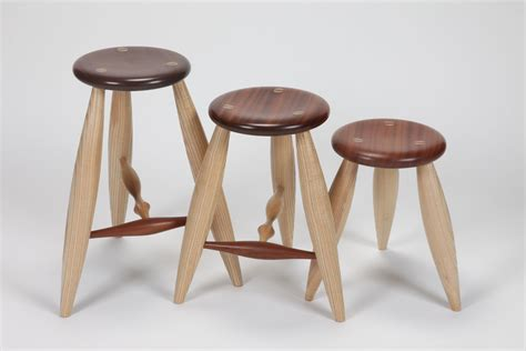 Stool Wood by T Rung Stool And Stool By David Wood Stool Artful Home