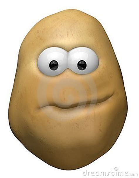 funny potato royalty  stock images image