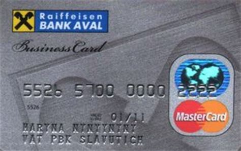 raiffeisen bank credit rating bank card raiffeisen bank aval mastercard business
