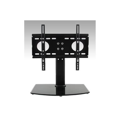 The Simple Stores Universal Table Top Mount Tv Stand For